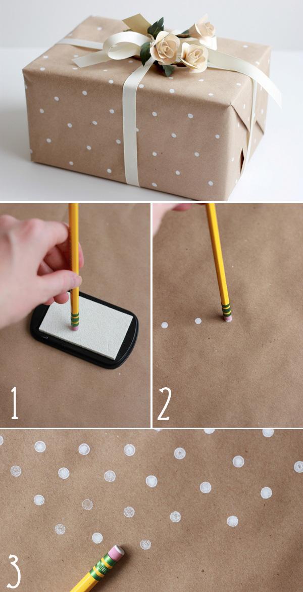 Bật Mí 5 cách tự làm giấy gói quà CỰC đơn giản mà đẹp 3