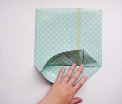 Mách bạn cách gấp túi giấy đơn giản mà SIÊU DỄ THƯƠNG2