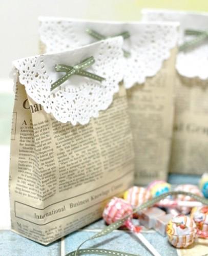 Cách gói quà bằng giấy báo đơn giản mà SIÊU DỄ THƯƠNG - CỰC XINH 1
