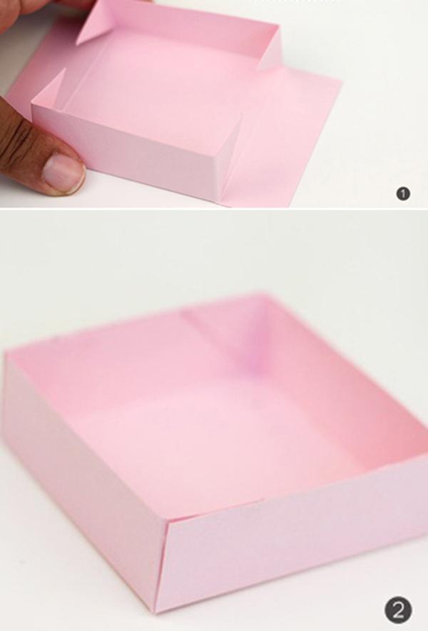 Cách làm hộp quà bằng giấy A4 Siêu Dễ Thương và độc đáo