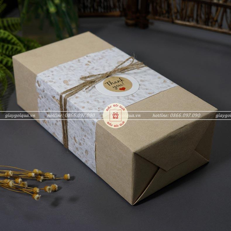 Giấy gói quà vải lanh Hàn Quốc cao cấp