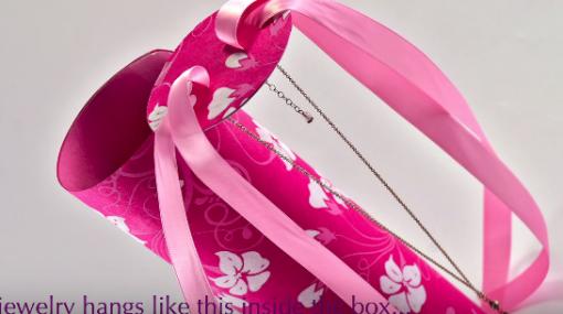 Cách gói quà bằng giấy hình trụ mẫu 1 12