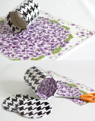Cách gói quà sinh nhật bằng lõi giấy