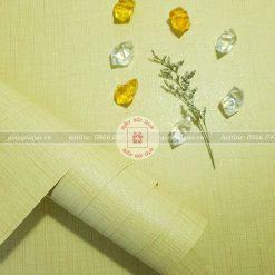 Giấy gói quà, bọc quà cao cấp chất vải sọc màu vàng
