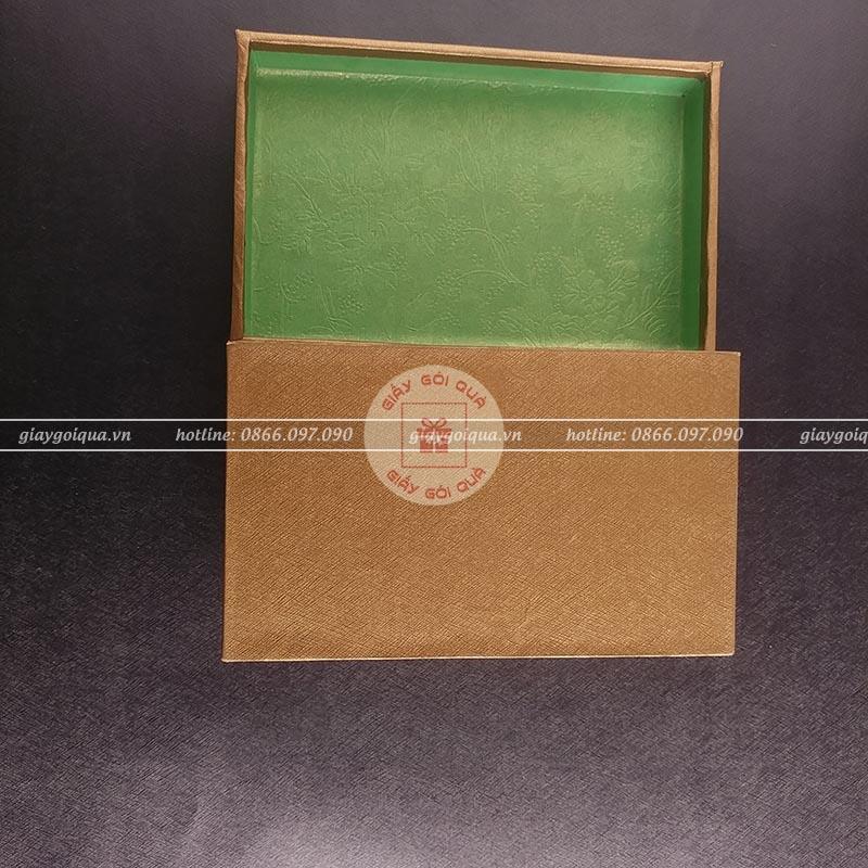 Giấy gói quà cao cấp gân chỉ đan chéo- CC17