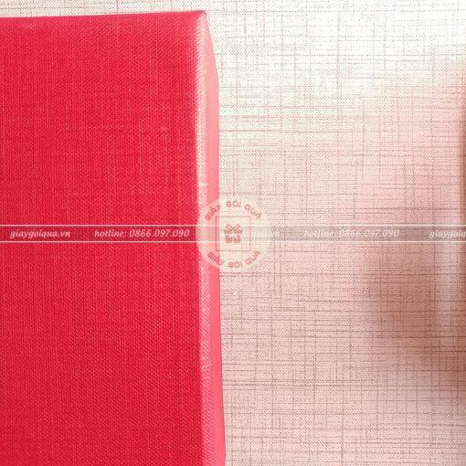 Giấy gói quà cao cấp chất liệu vải sọc - CC19