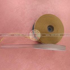 Ruy băng voan 1cm viền kim tuyến