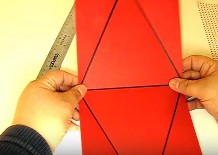 Cách gói quà hình tam giác đơn giản Xinh Xắn mà Độc Đáo - 263939