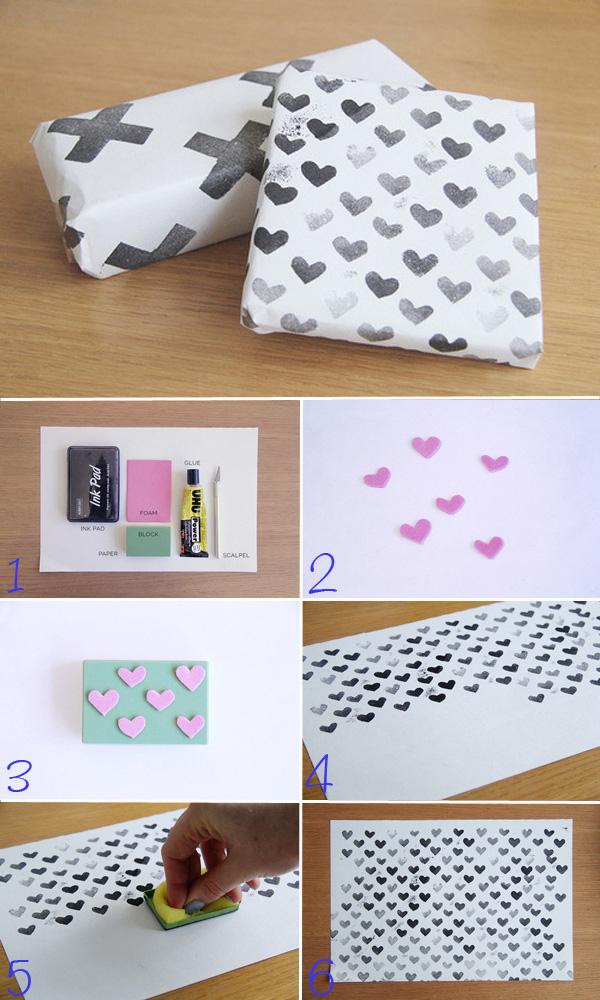 Các mẫu giấy gói quà độc đáo và lạ mắt bạn có thể tự làm