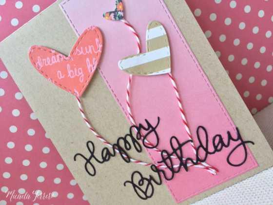 Một số mẫu thiệp sinh nhật tự làm đầy ý nghĩa