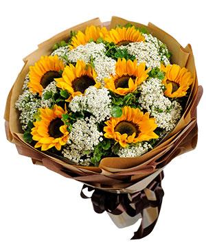 Tặng hoa là lựa chọn hàng đầu cho các chàng trai