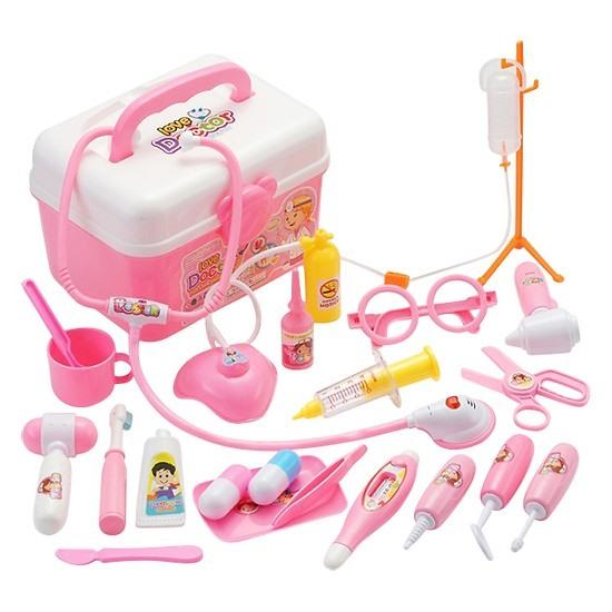 Bộ đồ chơi tập làm bác sĩ cho bé gái.