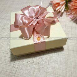 Hộp quà đựng trang sức, hộp quà cỡ nhỏ HQ13 – Kích thước 10x10x3