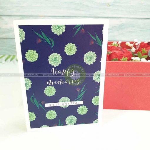 Thiệp quà tặng đẹp TM01 – Happy Memories