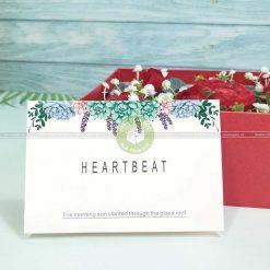 Thiệp mừng ngày valentine, 8/3 TM09 – HeartBeat