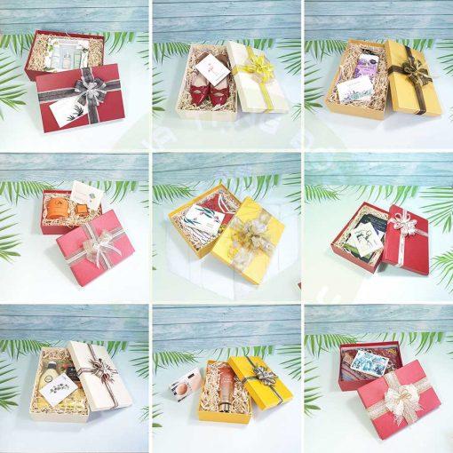 Tổng hợp một số mẫu hộp quà đẹp tại Quà tặng độc