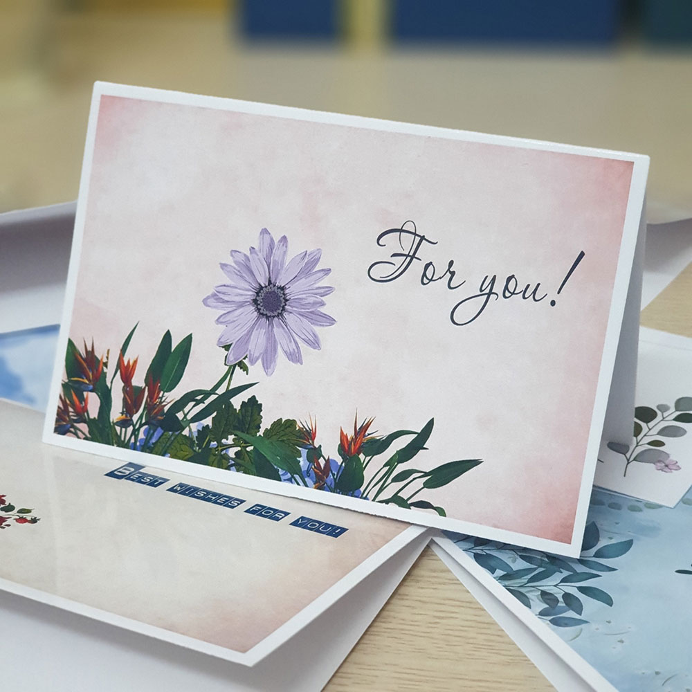 TM27 – Thiệp Mừng For You