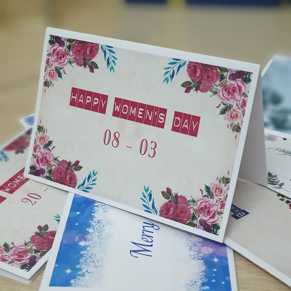 TM30 – Thiệp Mừng 8-3 Happy Woman's Day