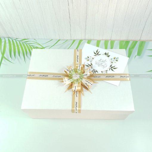 Hộp quà sinh nhật đẹp size to HQ03 – KT 30x20x10