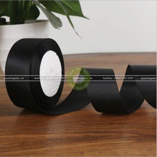 Ruy băng lụa bản 1cm, 2cm, 4cm trơn