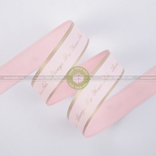 Ruy băng Thái 3cm Always by your side – RB36